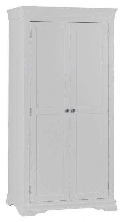 Stratford Grey Painted Full Hanging Wardrobe